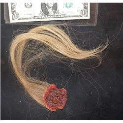 THE KNICK TORN AWAY SCALP SECTION WITH HAND PUNCHED HAIR