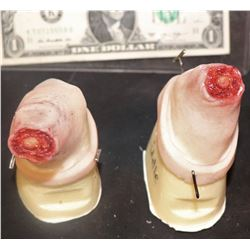 THE KNICK CHOPPED OFF MIDDLE AND RING FINGER STUMPS WEARABLE SILICONE