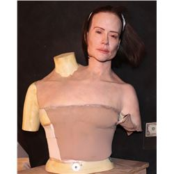 AMERICAN HORROR STORY FREAK SHOW CONJOINED TWIN BETTE SCREEN MATCHED HERO ANIMATRONIC HEAD