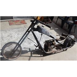 MASK ROCKY'S TRAINING WHEELS ADULT MINIBIKE CHOPPER