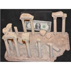 MINIATURE ANCIENT GREEK ROMAN RUINS FROM CRANT MCCUNE ARCHIVES 2