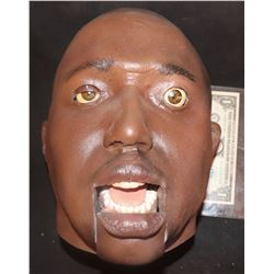KANYE WEST OR KEVIN HART GOOFY ANIMATRONIC HEAD INDUSTRIAL STRENGTH