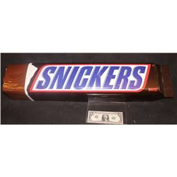 SNICKERS BAR OVERSIZED USED IN COMMERCIAL OR PROMOTION