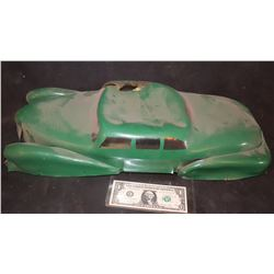 DICK TRACY SLOT CAR LARGE SCALE ANTIQUE FILMING MINIATURE 4