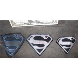 SUPERMAN KRYPTON S GLYPHS LOT OF 3