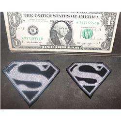 SUPERMAN KRYPTON S GLYPHS LOT OF 2