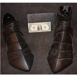 AQUAMAN BLACK MANTA PROTOTYPE BOOTS