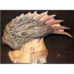 AQUAMAN TRENCHER CREATURE HEAD SKIN ON BUST 2 #12