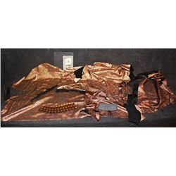 AQUAMAN SUIT APPLIANCE AND FABRIC LOT 02