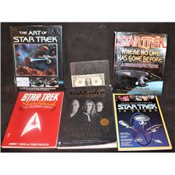 STAR TREK THE NEXT GENERATION COLLECTION OF BOOKS