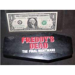 FREDDY'S DEAD THE FINAL NIGHTMARE RARE PROMO COFFIN