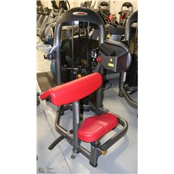 COMMERCIAL GRADE ARM CURL MACHINE