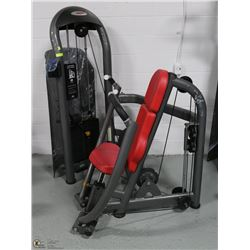 COMMERCIAL GRADE SEATED LEG CURL