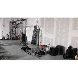 MASSIVE WORKOUT CENTER INCLUDES