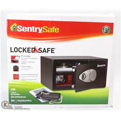 NEW ELECTRONIC LOCK SENTRY SAFE
