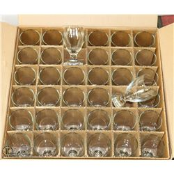 CASE OF ANCHOR HOCKING BANQUET GOBLETS (10.5 OZ)