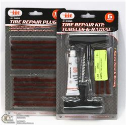 NEW 18PC TIRE REPAIR KIT