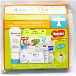 HUGGIES BABY ON THE GO KIT