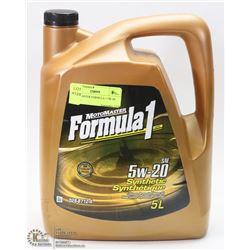 MOTOMASTER FORMULA 1 5W-20 SAE OIL.