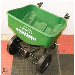 EXTRA LARGE SCOTTS SEED/FERTILIZER SPREADER