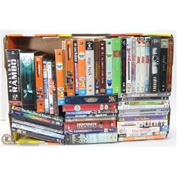 FLAT OF ASSORTED DVD'S - MANY SERIES TV SEASONS