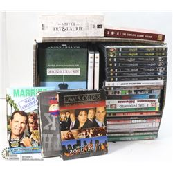 LARGE BOX  OF ASSORTED DVD'S