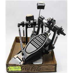 SET OF DOUBLE BASS KICK PEDALS