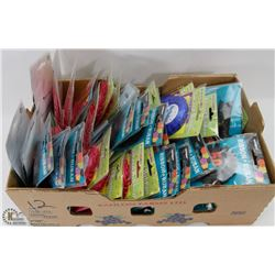BOX OF ASSORTED BIRTHDAY RIBBONS