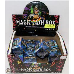 STORE DISPLAY BOX OF MAGIC CASH BOXES