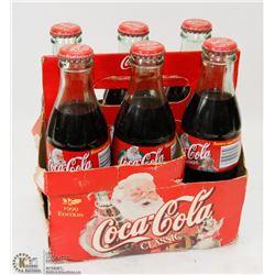 6 PACK OF VINTAGE COKE BOTTLES, ORIGINAL PACKAGING