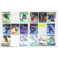 WAYNE GRETZKY RECORDS 15 COMPLETE HOCKEY CARD SET