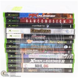 BUNDLE OF 12 XBOX GAMES INCL. LORD OF