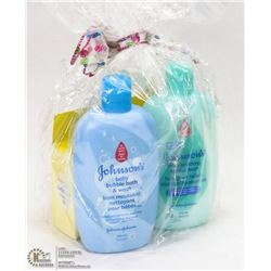 BABY JOHNSON PRODUCTS IN GIFT BAG