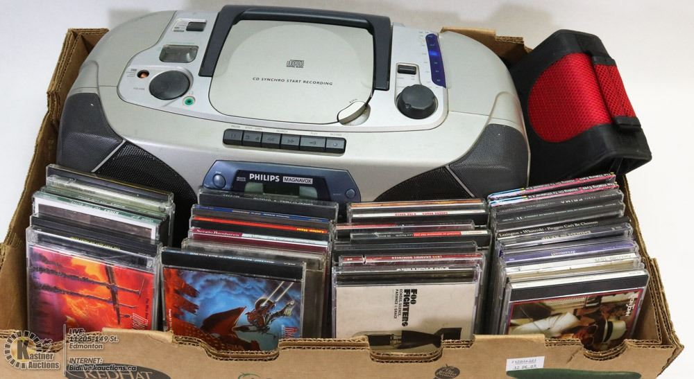 Philips Magnavox C Cassette Player With Lots Of