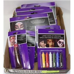 FLAT OF ASSORTED HALLOWEEN MAKE UP