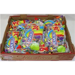 FLAT OF RAINBLO CANDIES
