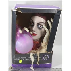 ANIMATED LIGHT UP HALLOWEEN FORTUNE TELLER