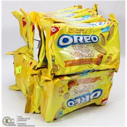 10 PACKS OF SALTED CARAMEL OREO COOKIES