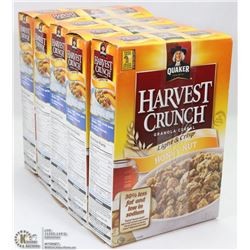 5 BOXES OF HARVEST CRUNCH GRANOLA CEREAL