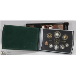 2001 CANADIAN PROOF SET IN BOX.