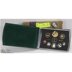 2002 CANADIAN PROOF SET IN BOX.
