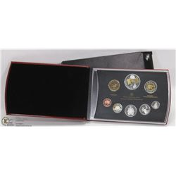 2005 CANADIAN PROOF SET WITH COA.