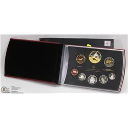 2009 CANADIAN PROOF SET IN BOX.