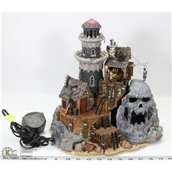 HALLOWEEN LEMAX  SPOOKY TOWN LIGHTHOUSE