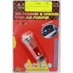 NEW CAR AIR PURIFIER / IONIZER (RED)