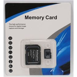 NEW 32GB MICRO SD WITH ADAPTOR