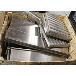PALLET OF STAINLESS STEEL