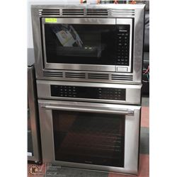 NEW THERMADOR S/S WALL OVEN / MICROWAVE COMBO