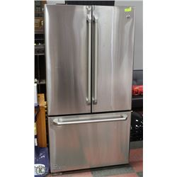 GE STAINLESS STEEL SIDE X SIDE REFRIGERATOR