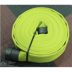"NEW FIRE HOSE 2-1/2"" 50FT YELLOW"